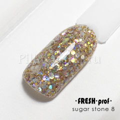Гель Sugar stones fresh prof 5g  №08